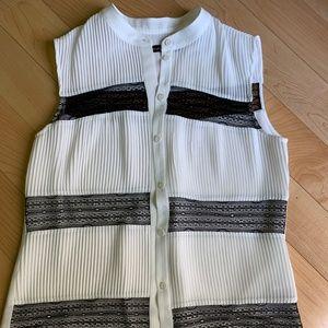 Karen Millen Summer Shirt. Size US 4.